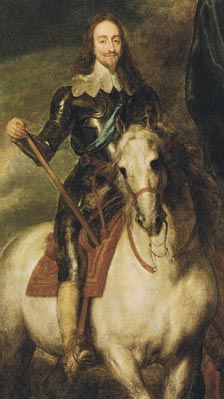 Contemporary portrait of Charles the First