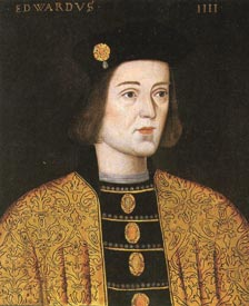Contemporary portrait of Edward the Fourth