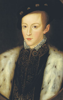 Contemporary portrait of Edward the Sixth