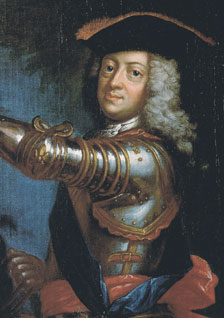 Contemporary portrait of George the First