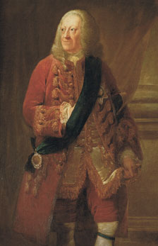 Contemporary portrait of George the Second