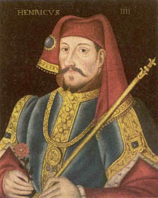 Contemporary portrait of Henry the Fourth