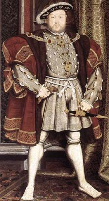 Contemporary portrait of Henry the Eighth