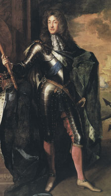 Contemporary portrait of James the Second