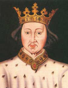 Contemporary portrait of Richard the Second
