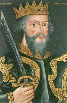 Contemporary portrait of William the First